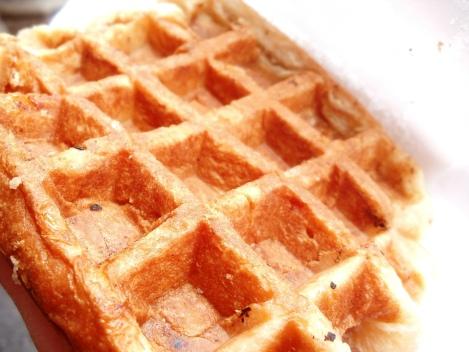 Belgian liege waffle Brussels