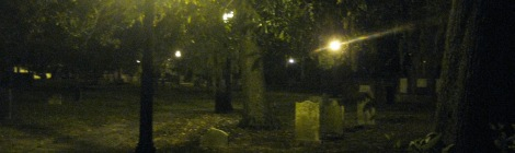 Is Colonial Park Cemetery haunted?