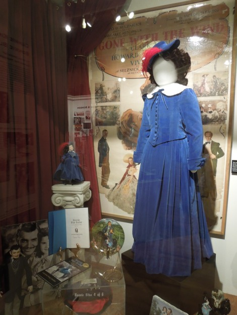 Gone-with-the-wind-museum-Scarlett O'hara-blue-daughter-Bonnie-Blue-Dress