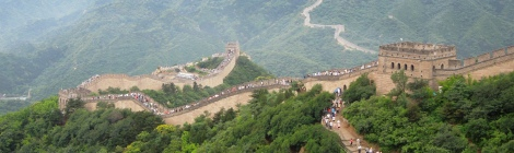 Which trail to choose on Great Wall of China Mutianyu or Badaling
