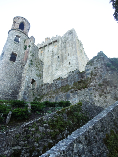 This is the Blarney Castle. For a picture of the Stone, please see my previous post.