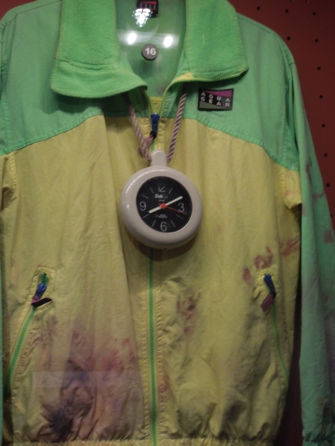 Flavor Flav's jacket and bling (Disgusting, isn't it?)