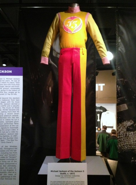 Michael Jackson wore this.
