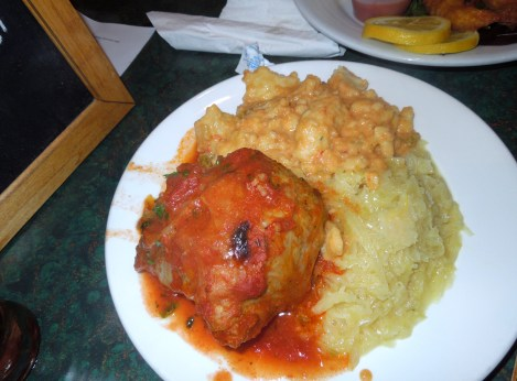 I've had Stuffed Cabbage before, but never like this.