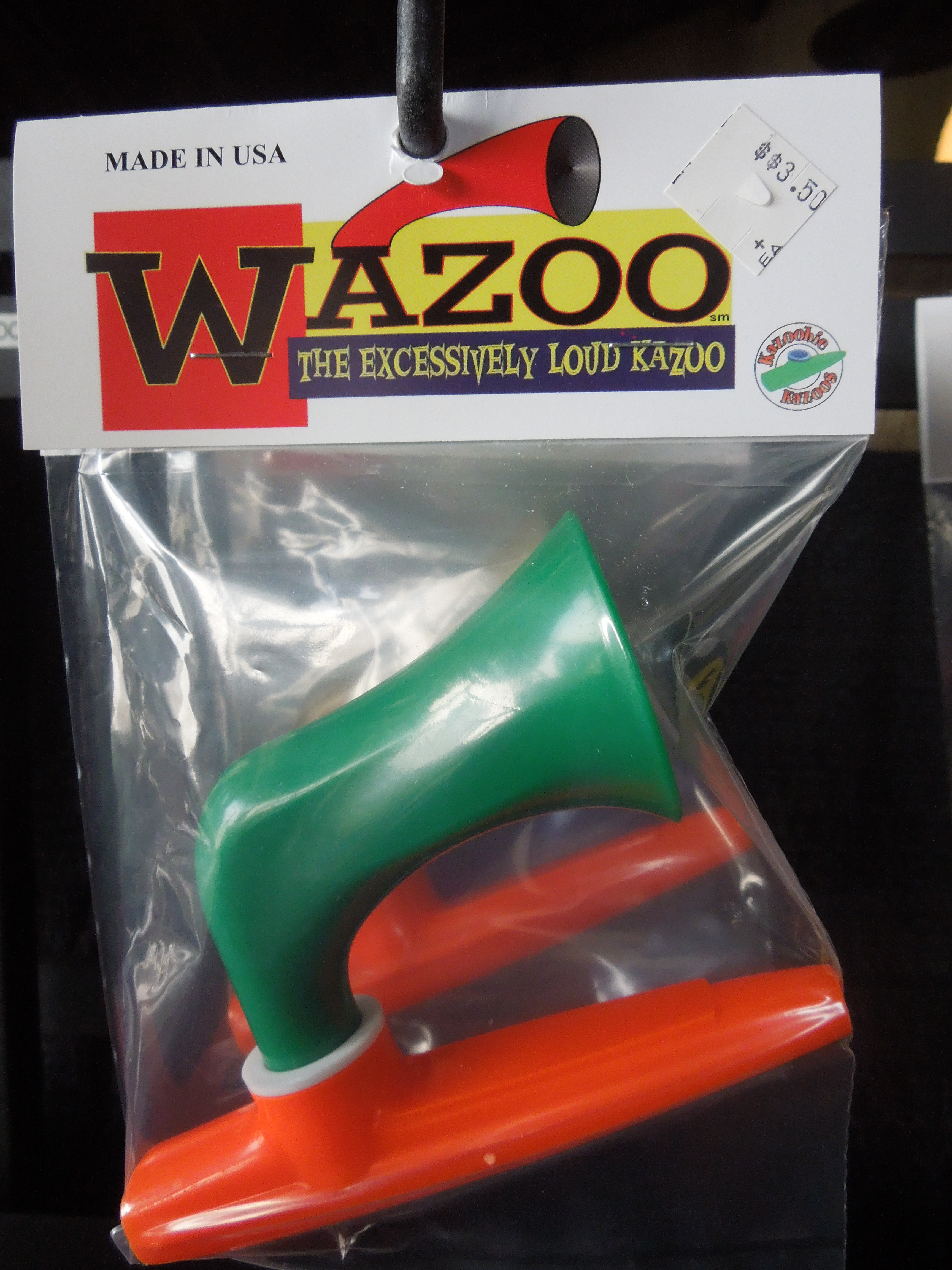 Tempted by wazoo