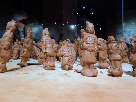 And then add it to this miniature terracotta warrior army.