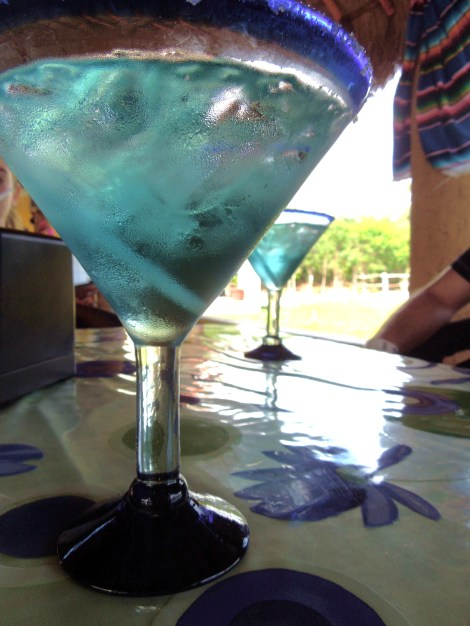 We enjoyed a margarita while we were there, too.