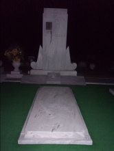 Hank Williams' gravestone