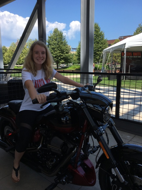 where is the Harley Davidson Museum where can kids rev a motorcycle