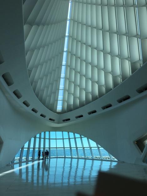 Art museum architecture-Milwaukee