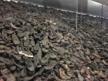 Only one of the walls of shoes.