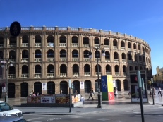 The bullring in Valencia