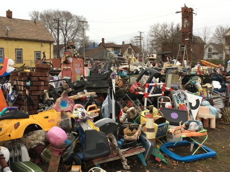 What does the Heidelberg Project look like?