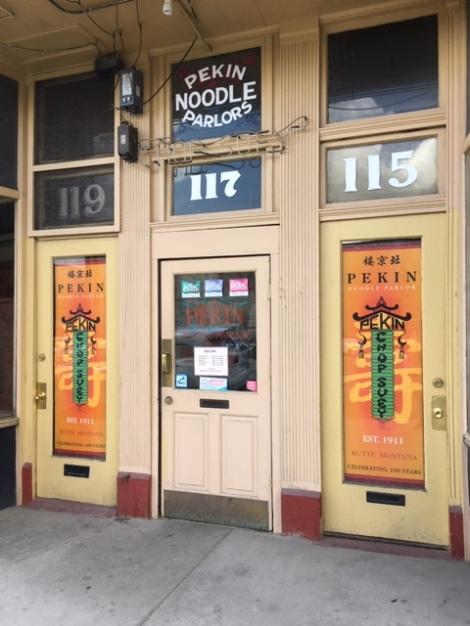 Pekin Noodle Parlor, Butte