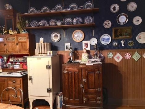 Kitchen in Copper King Mansion-Butte