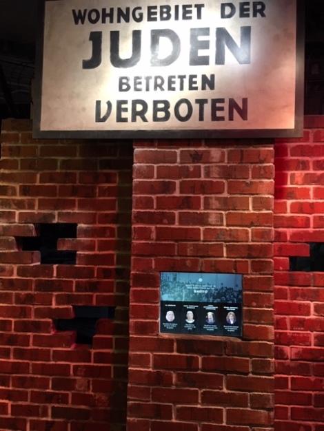Cincinnati Holocaust Museum Jewish ghettoes
