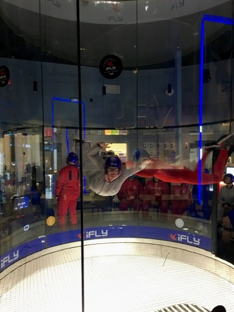 what is indoor skydiving like?