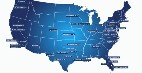 iFly locations