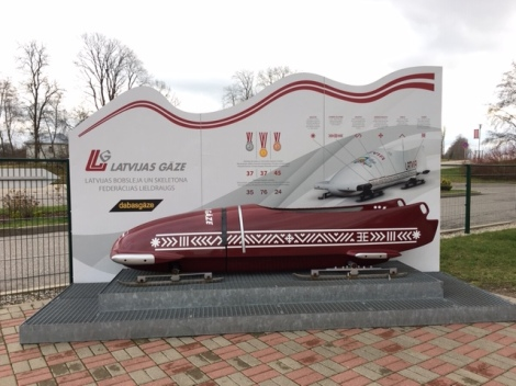 Latvia Luge and Bobsleigh Track