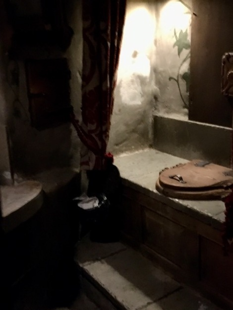 Medieval toilets Olde Hansa Tallinn