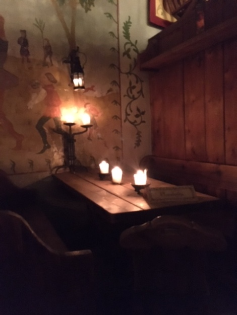 Medieval ambiance at Olde Hansa