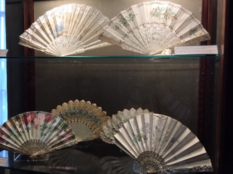 Victorian accordian fans