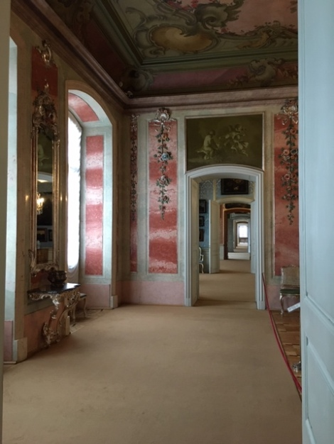 Rooms inside Rundale Palace