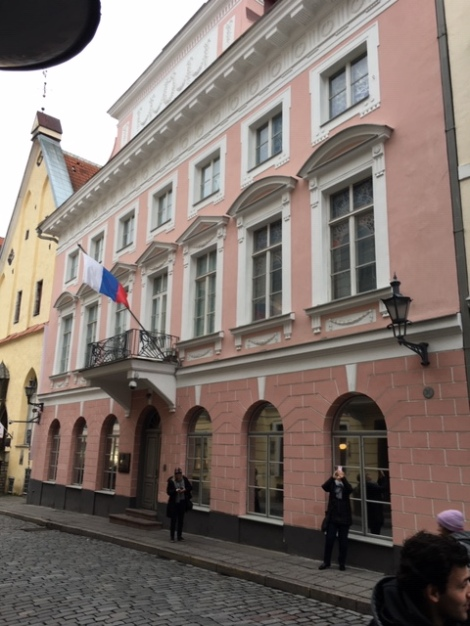 Russian Embassy in Estonia