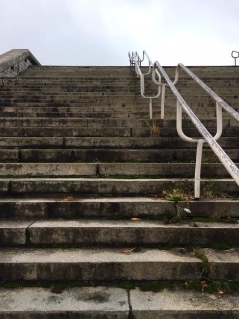 Tallinn City Hall steps