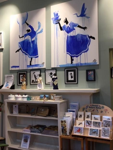 Indigo-blue-Gullah-art