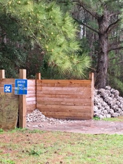 Oyster Shell Recycling Dropoff