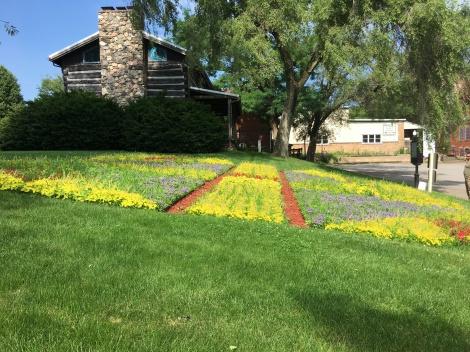 Old Bag Factory quilt garden